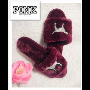 PINK Victoria Secret slippers NWOT